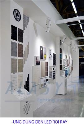 đèn led chiếu showroom