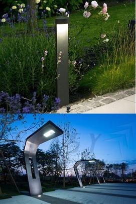 mẩu đèn trụ sân vườn đẹp