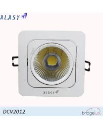 Đèn LED Âm Trần Vuông COB 12W | DCV2012