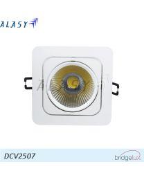 Đèn Led Dowlight  âm trần vuông COB 7w
