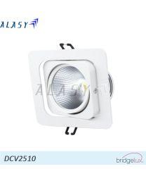 Đèn LED âm trần vuông COB 10W