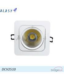 Đèn LED Âm Trần Vuông 10W| DCV2510