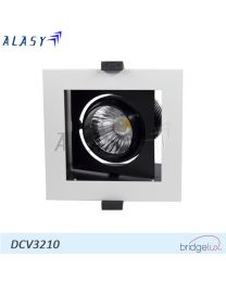 Đèn LED Âm Trần Vuông COB 10W| DCV3210