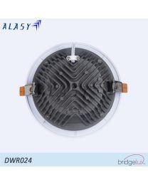ĐÈN LED ÂM TRẦN CHỐNG NƯỚC 24W - DWR024