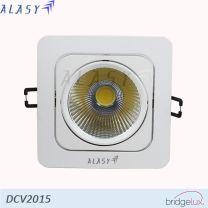 Đèn LED âm trần COB vuông 15w
