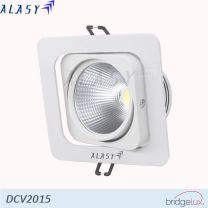 ĐÈN LED ÂM TRẦN VUÔNG COB 15W - DCV2015