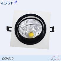 ĐÈN LED ÂM TRẦN VUÔNG COB 10W  DCV310