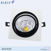 ĐÈN LED ÂM TRẦN VUÔNG COB 10W| DCV310