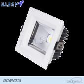 Đèn LED Âm Trần Vuông COB 15W| DCWV015